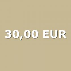 Gutschein 30,00 EUR