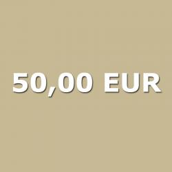 Voucher 50,00 EUR