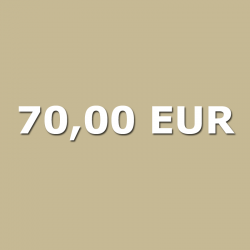 Gutschein 70,00 EUR