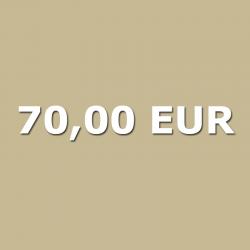 Voucher 70,00 EUR