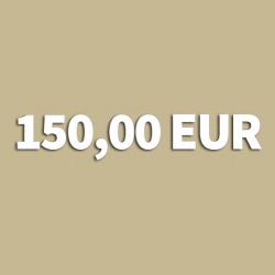Gutschein 150,00 EUR